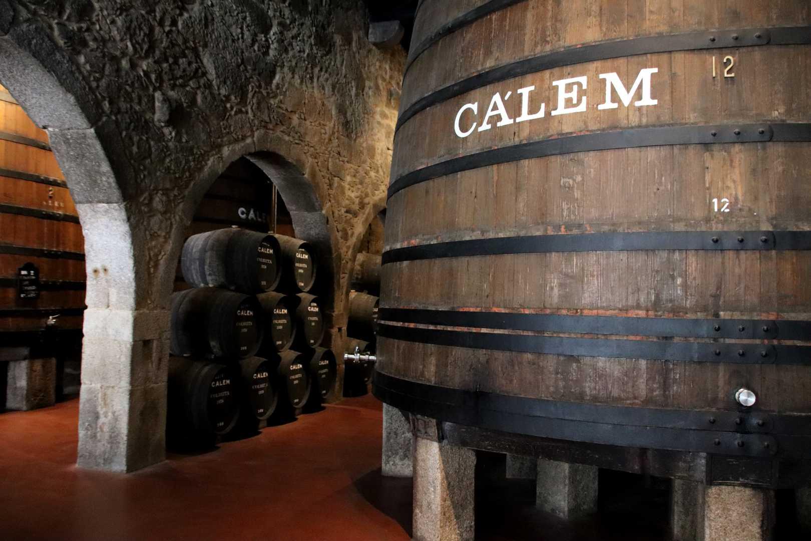 Portugal - Visite des caves de porto de Callem à Vila Nova de Gaia
