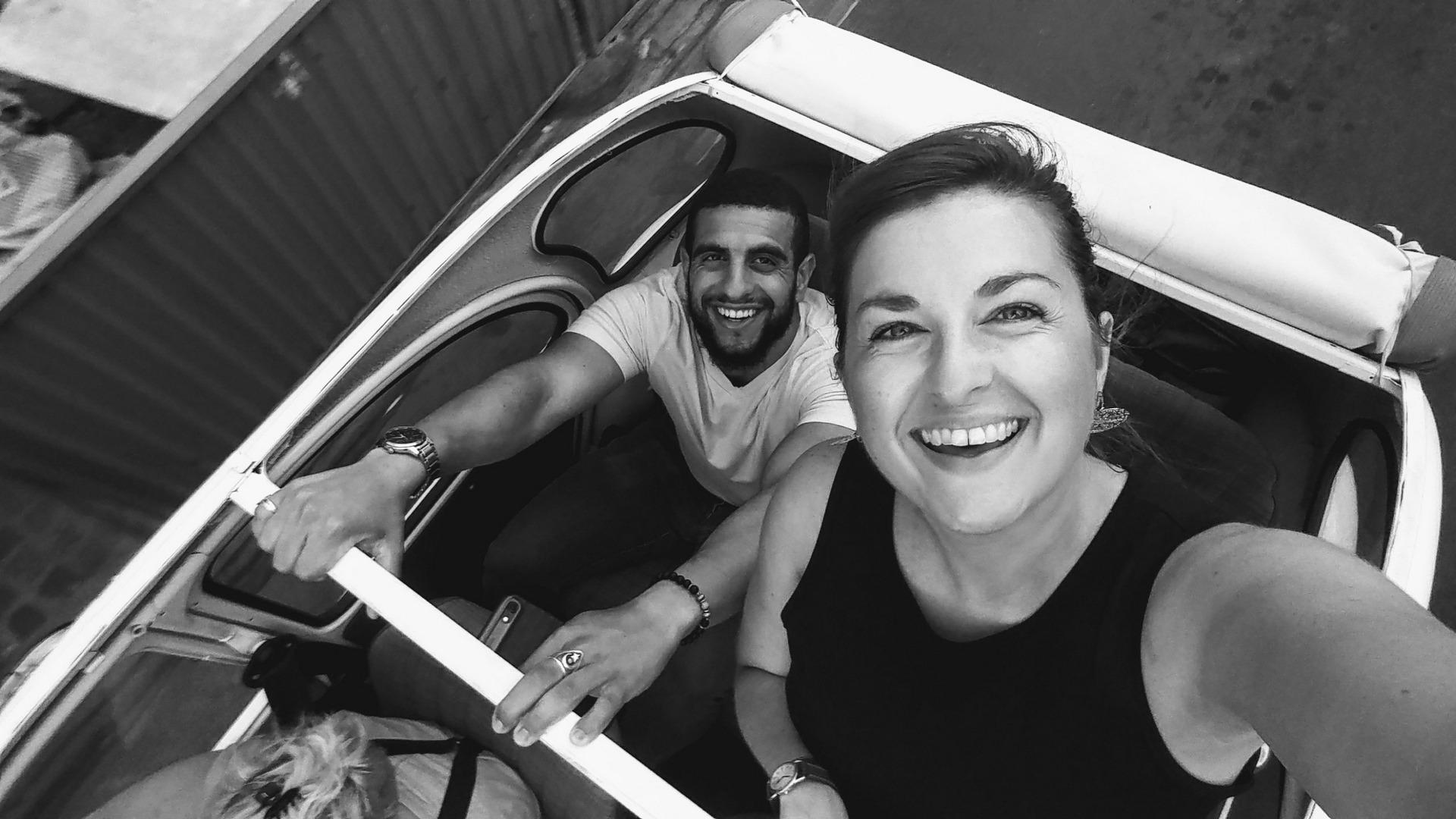 Amour de voyage - Leslie et Mahmoud