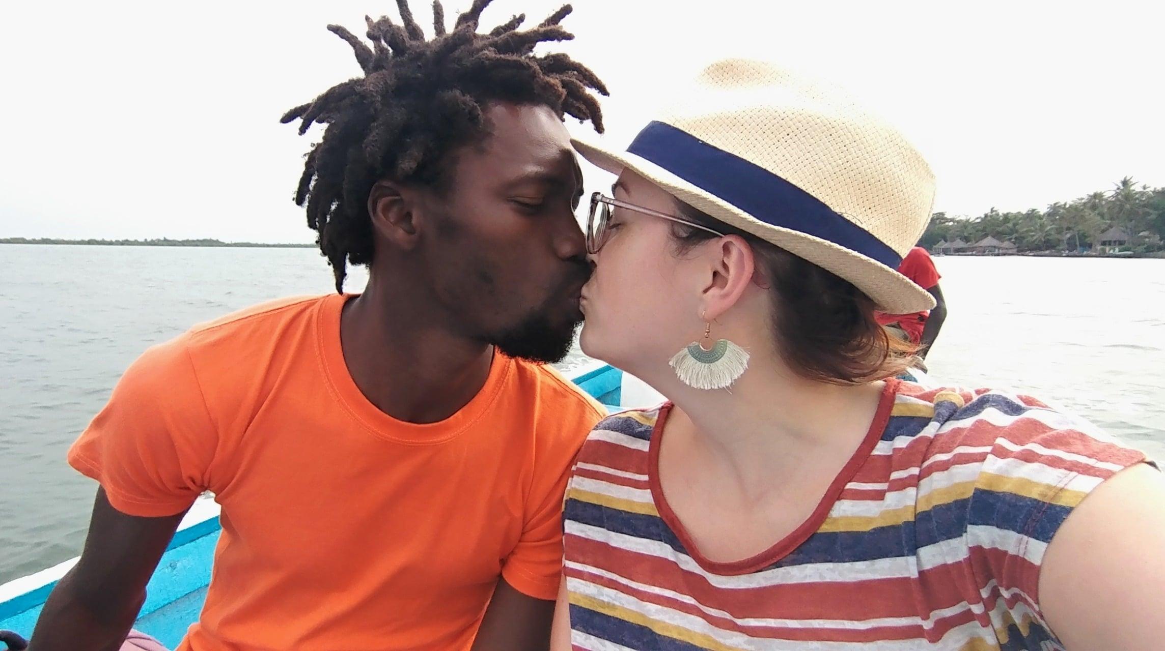 Amour de voyage - Leslie et Modou