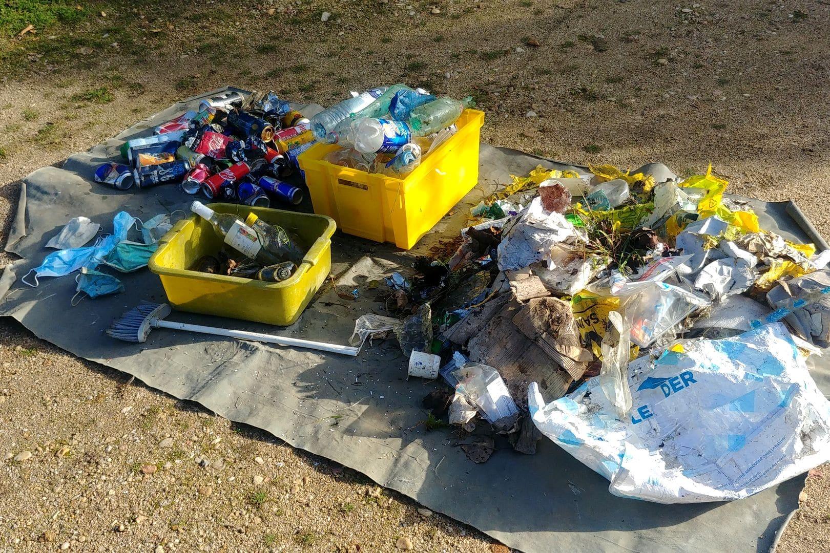 #défi1km0déchet - Ramassage de déchets