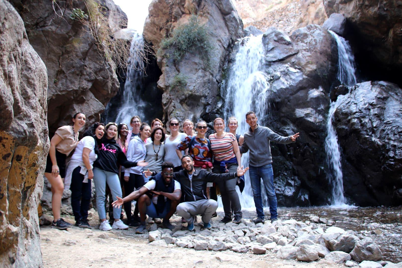 Le Wander Gang à Marrakech, dans la vallée d'Imlil