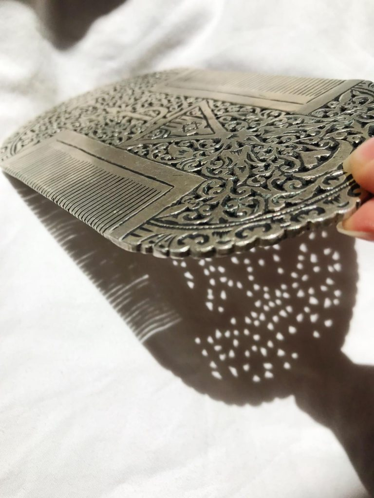 Maroc - Peigne de la mariée juive