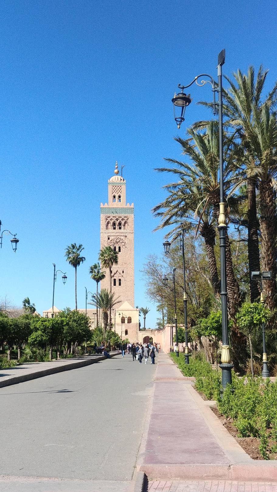 Maroc - La mosquée de la Koutoubia à Marrakech