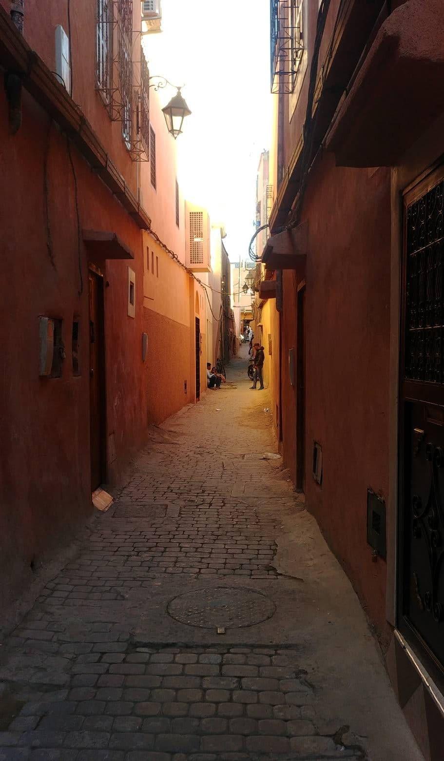 Maroc - Le quartier juif du mellah à Marrakech