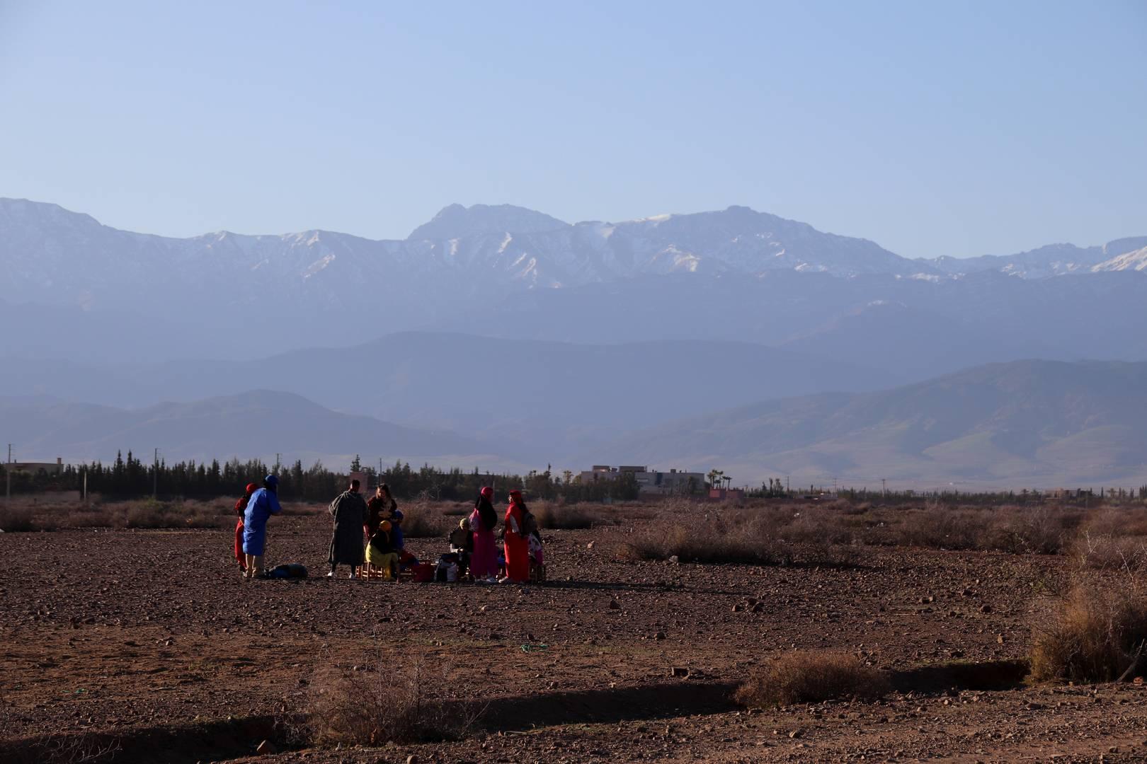 Maroc - Bergers dans la vallée d'Imlil
