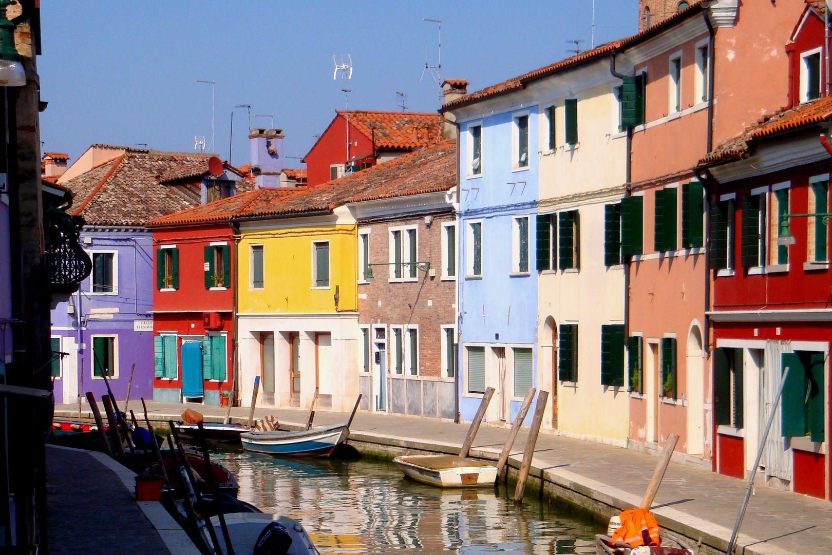 Italie - Maisons colorées sur l'île de Murano
