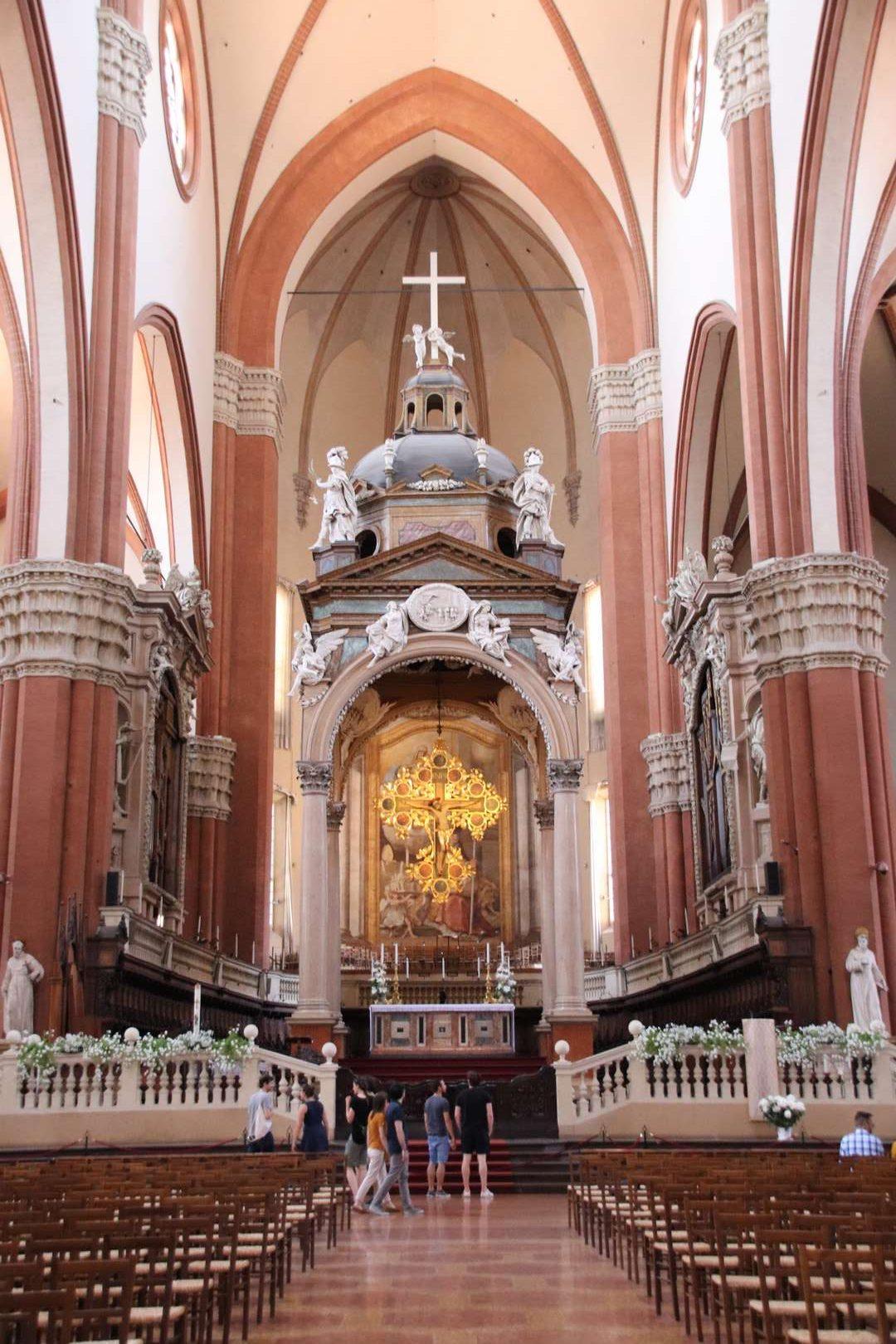 Italie - Basilica di San Petronio à Bologne