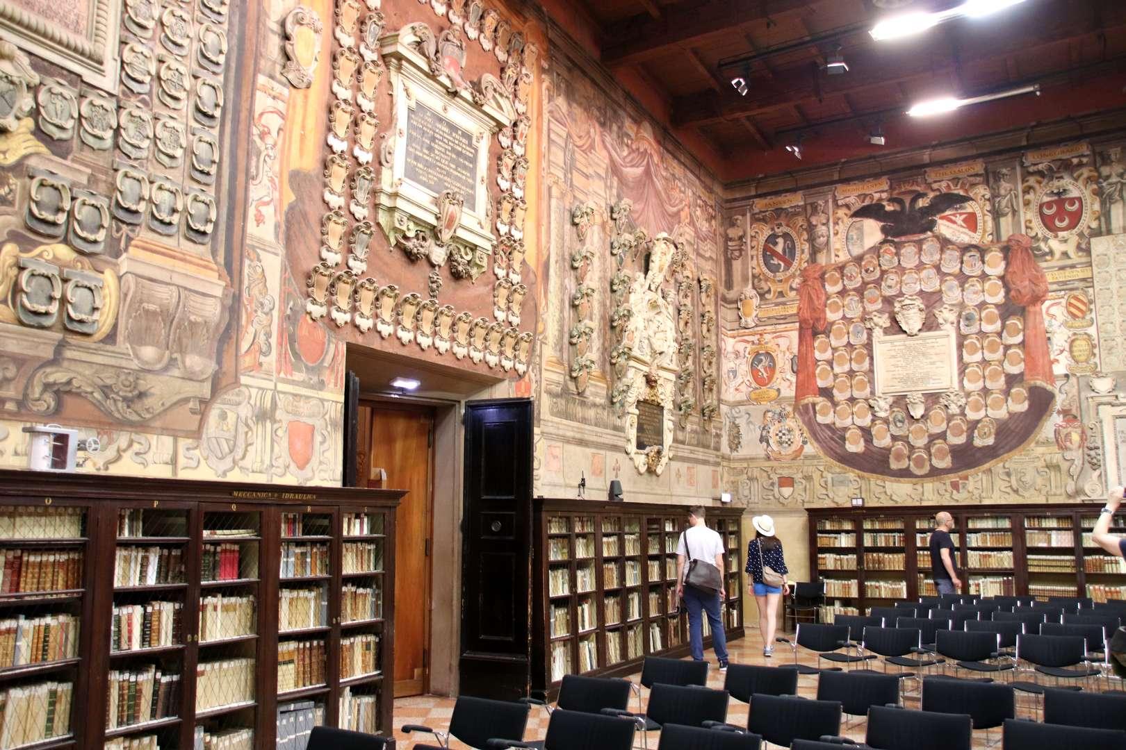 Italie - Pallazo Dell' Archiginnasio, ancien siège de l'université de Bologne