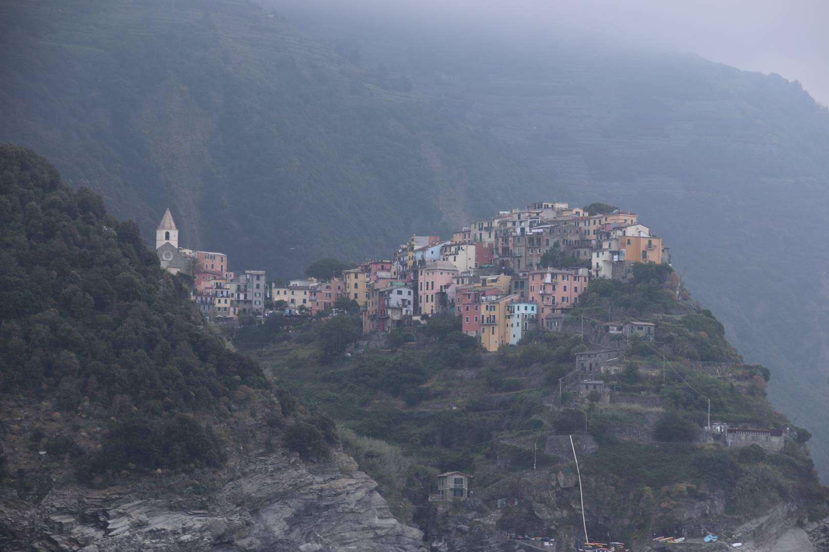Italie - Village de Corniglia, parc des cinque terre