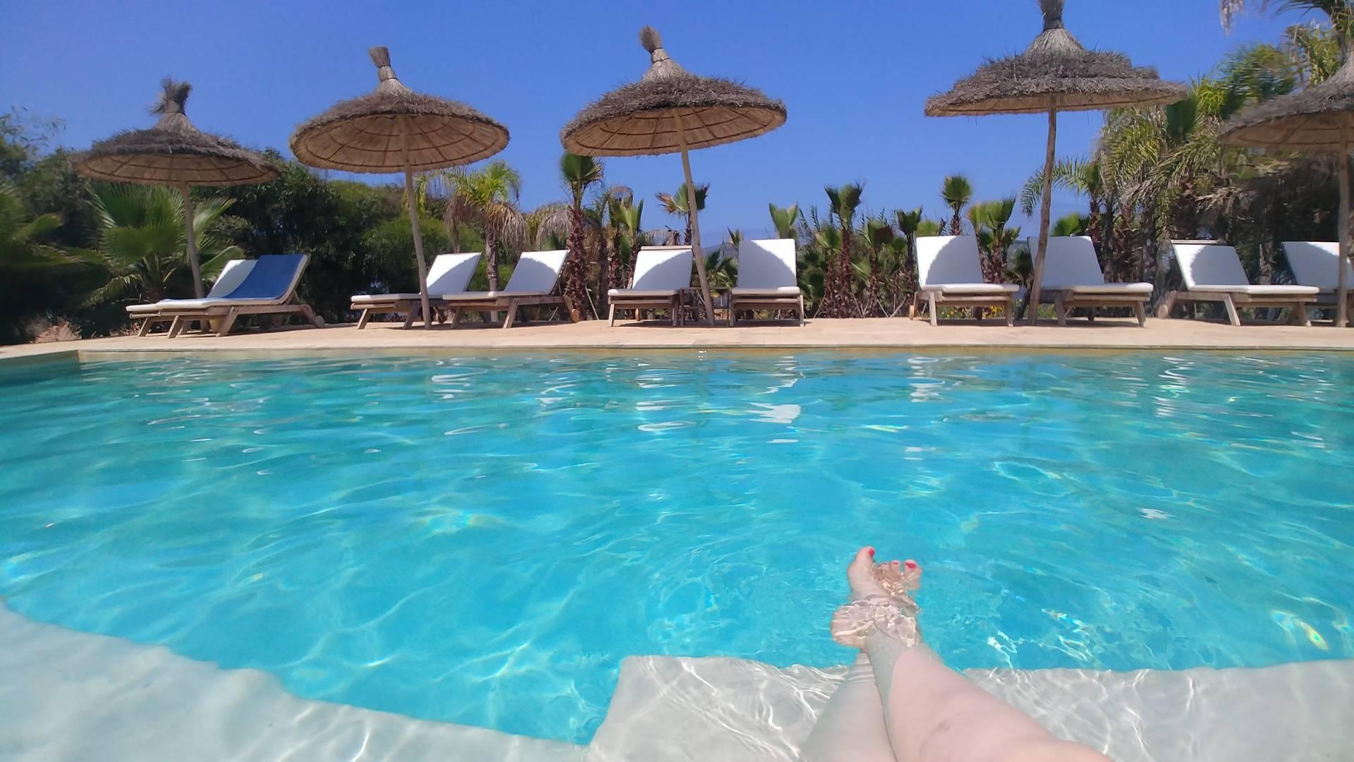 Maroc - Piscine de l'Azalai Beach Cottage