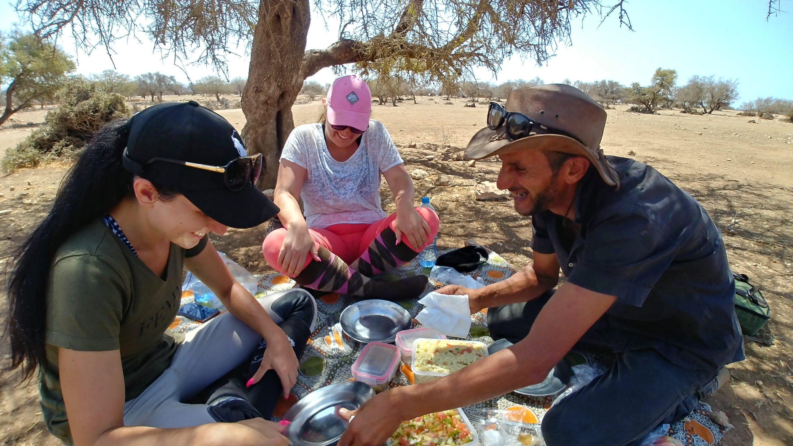 Maroc - Randonnée à cheval à Essaouira et Sidi Kaouki, pique-nique