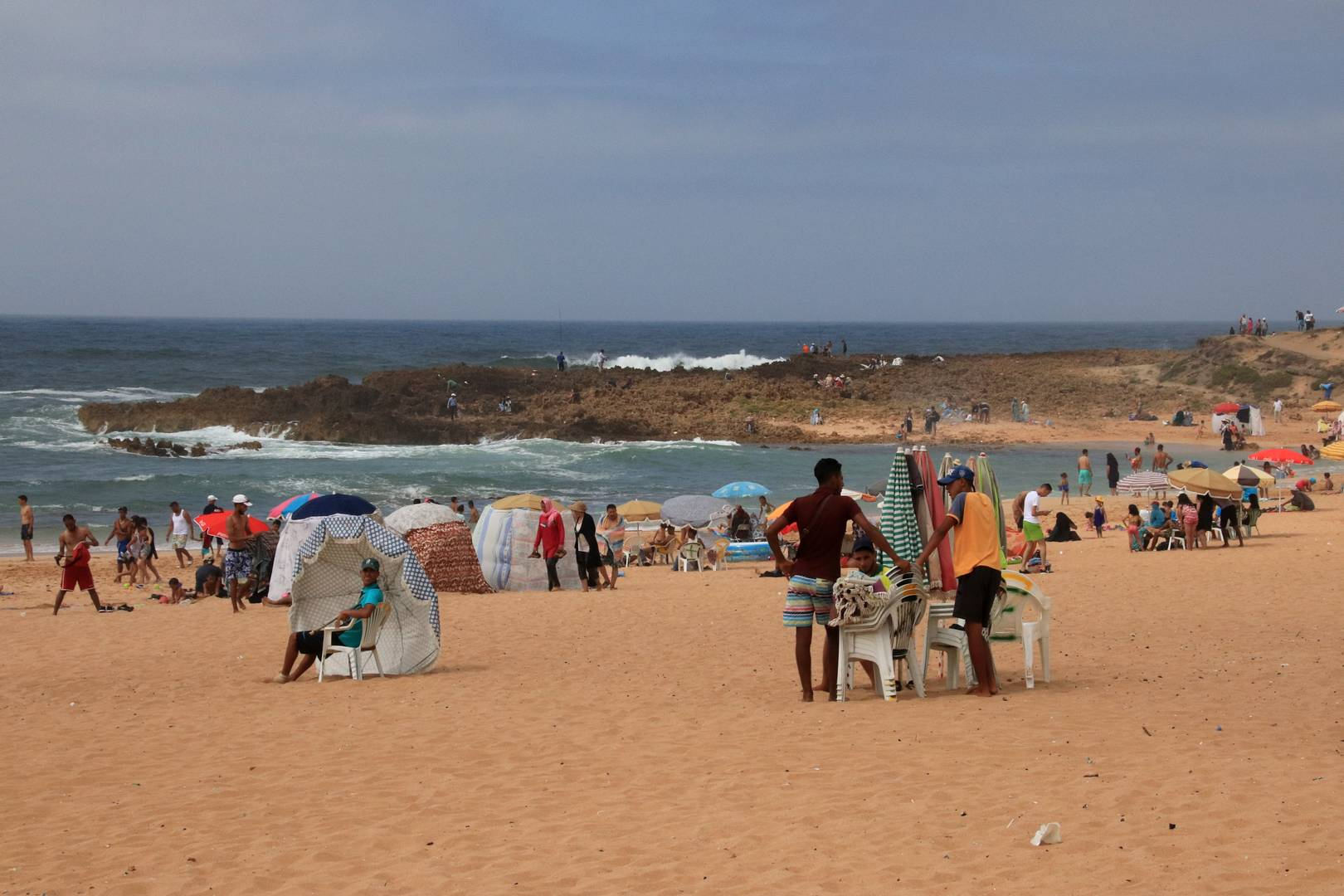 Maroc - Plage de Oualidia