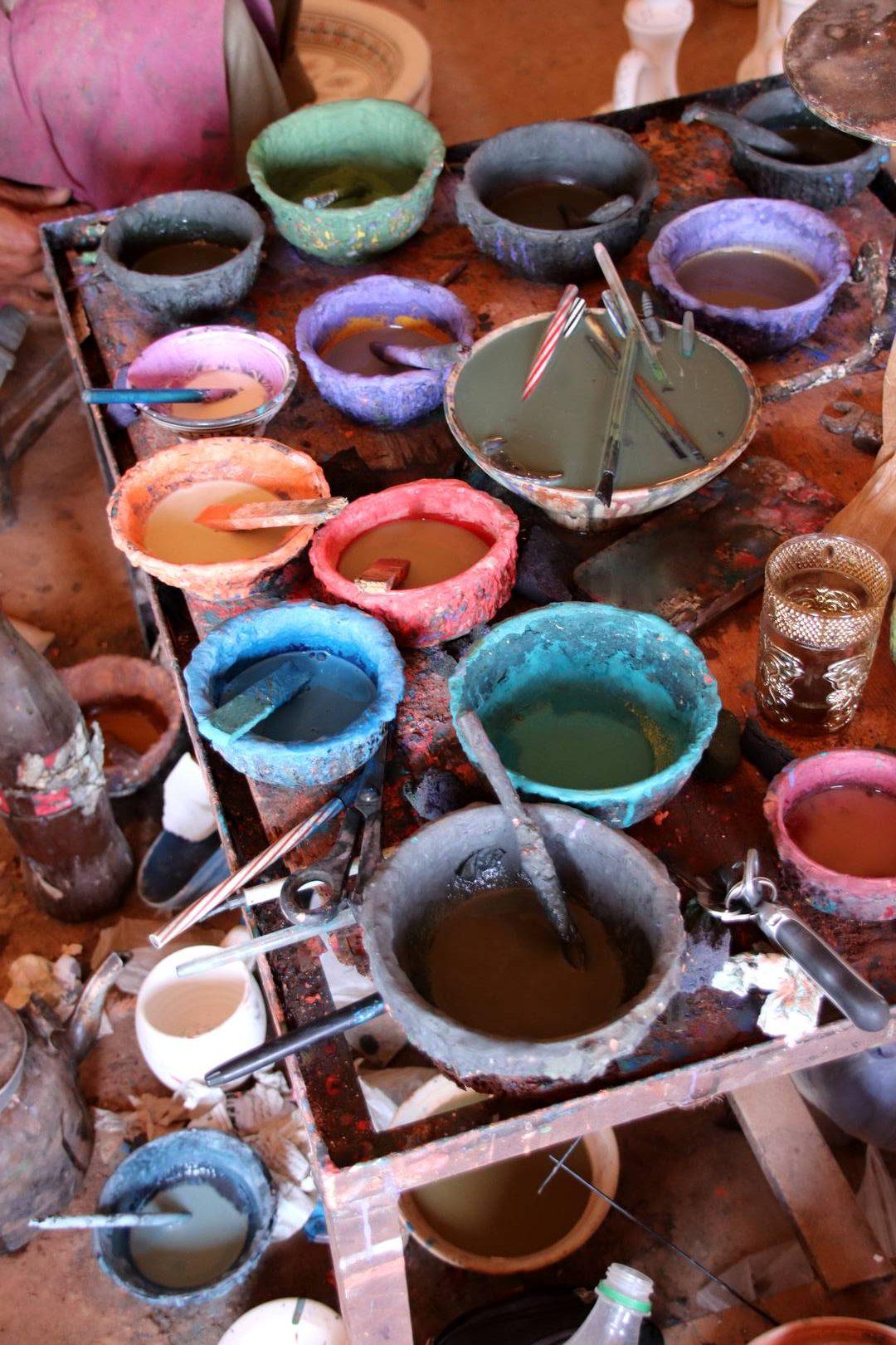 Maroc - Poterie de Safi