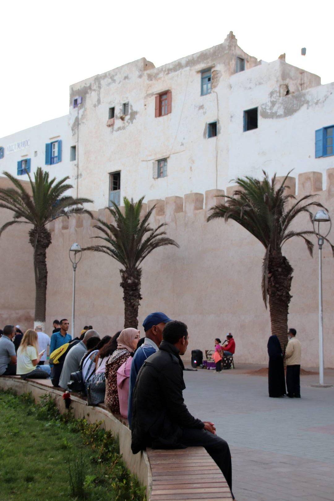 Maroc - Remparts de la médina d'Essaouira