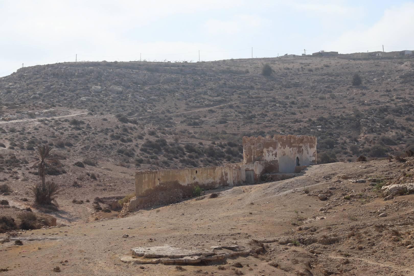Maroc - Marabout de Sidi M'barek au Sud d'Essaouira
