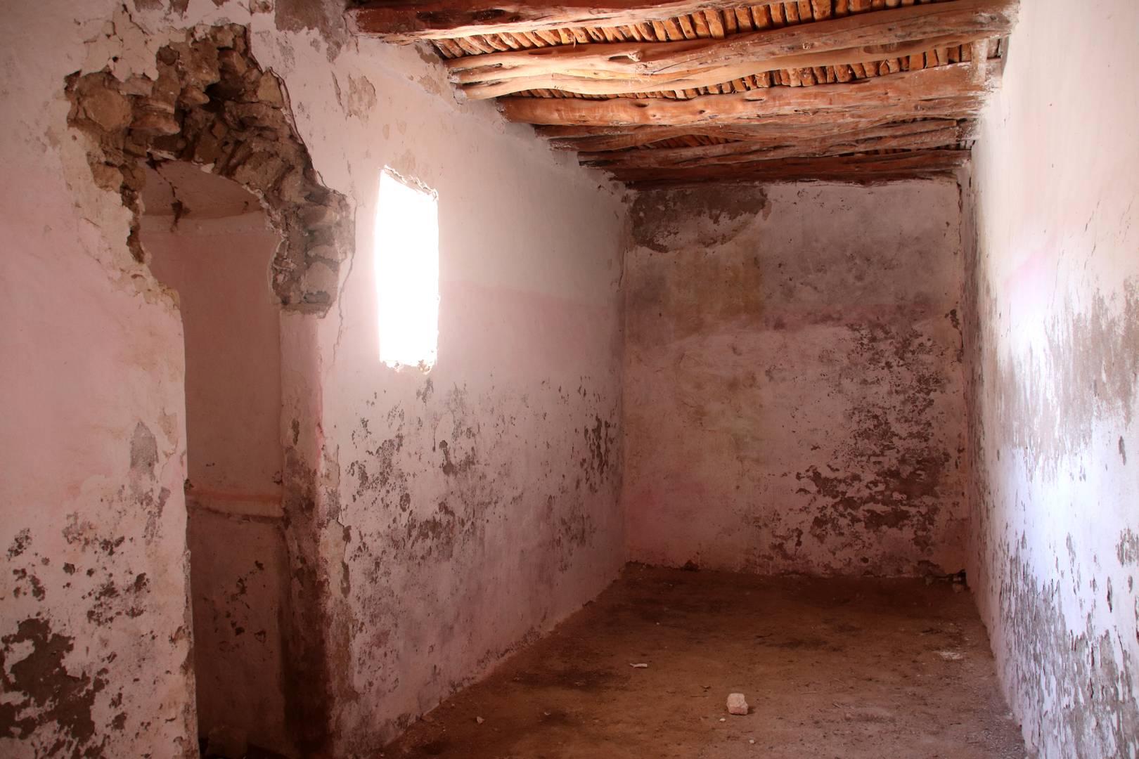 Maroc - Salle de prière du marabout de Sidi M'barek au Sud d'Essaouira
