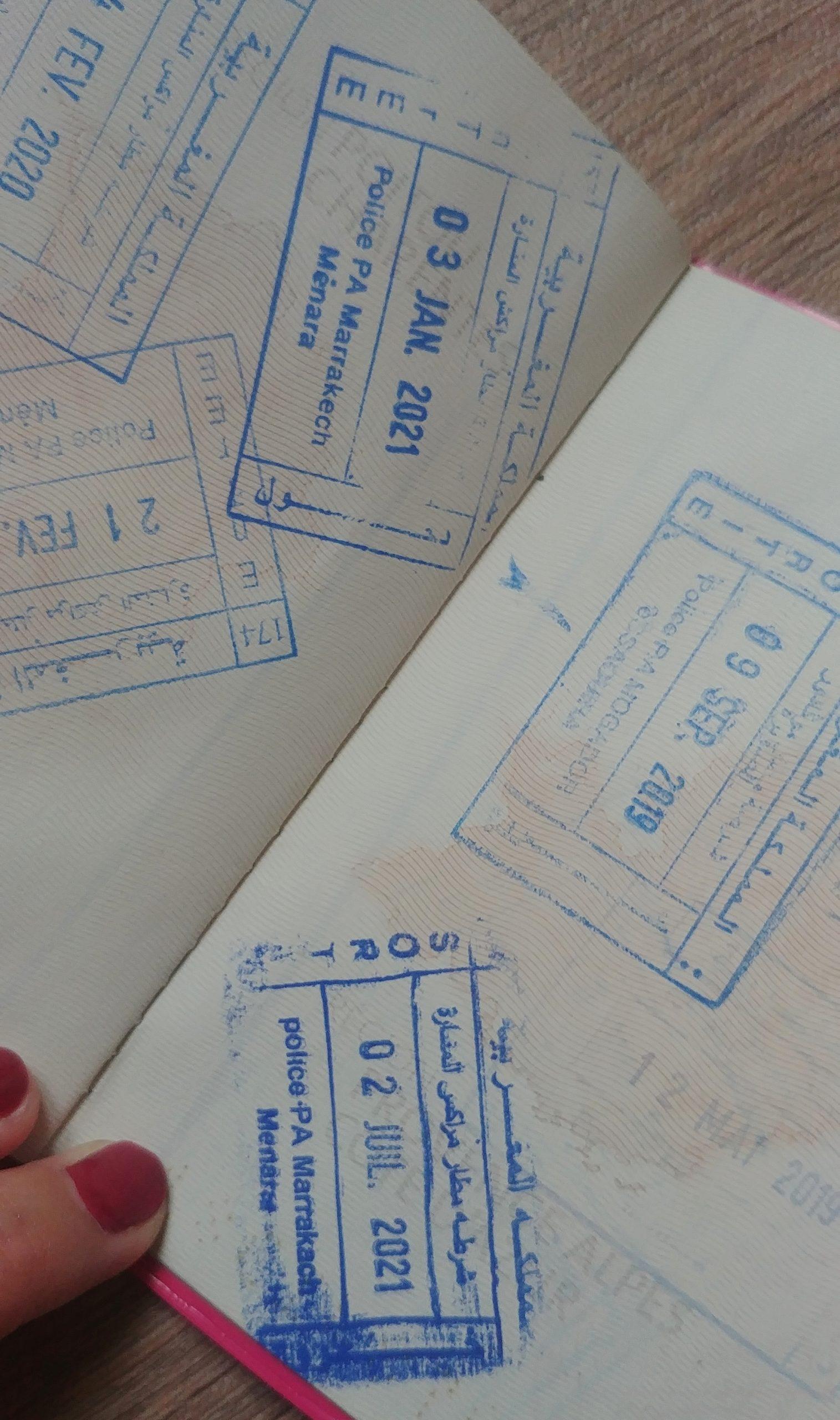 Visa touriste maroc